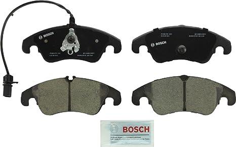 Bosch BC1322 QuietCast Premium Ceramic Disc Brake Pad Set For Select Audi  A4, A4 Quattro, A5, A5 Quattro, A6, A6 Quattro, A7 Quattro, Allroad, Q5,  S4,