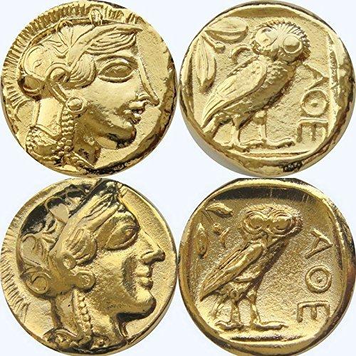 Greek Mythology G 77g B00zmqh3q6 2のバージョンのathenaフクロウ