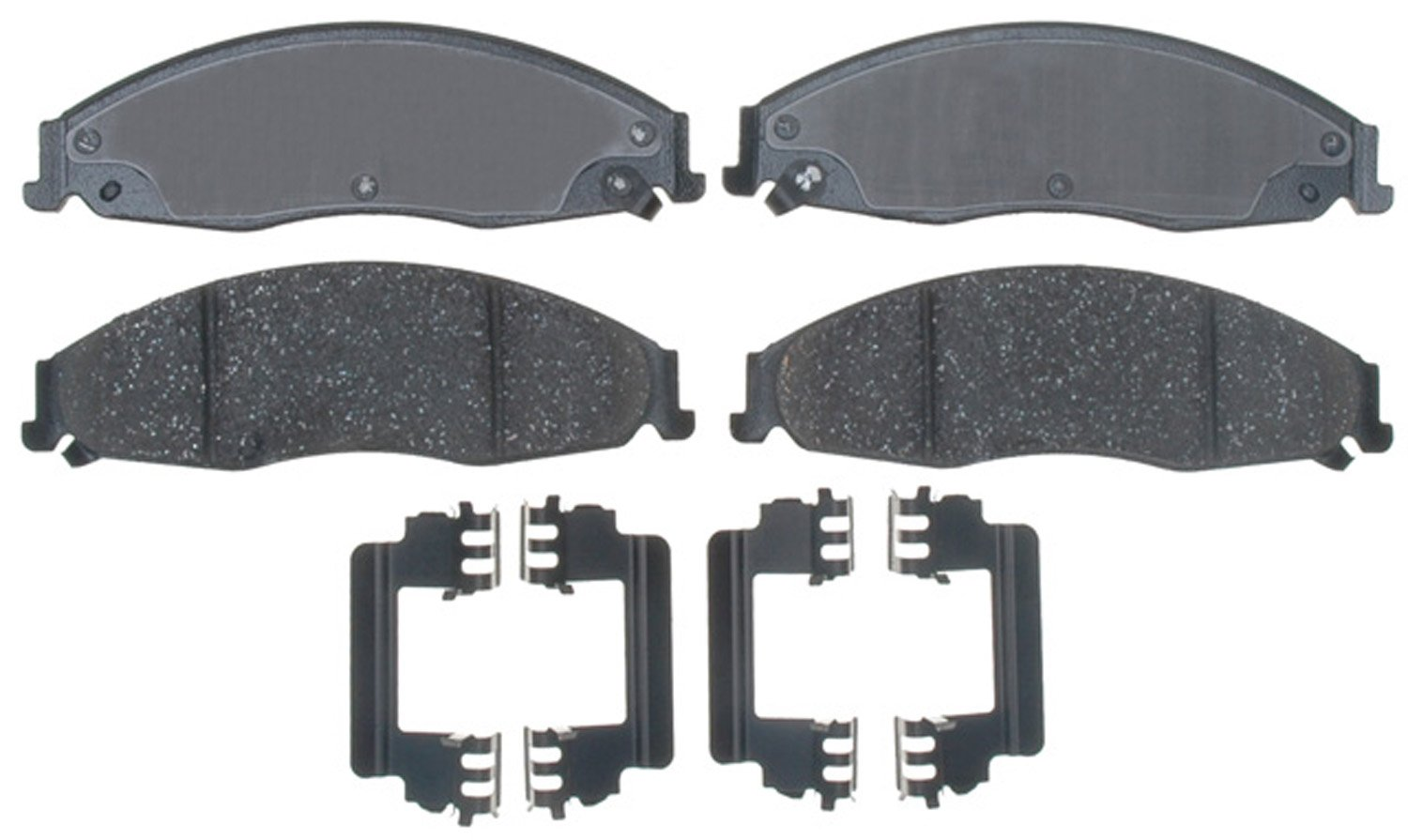ACDelco 17D921CH Professional Ceramic Front Disc Brake Pad Set