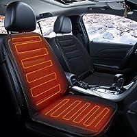 Single Voupuoda Car Heated Seat Cushion 12V Car Seat Winter Warmer Cover Chair Heating Heater Pad