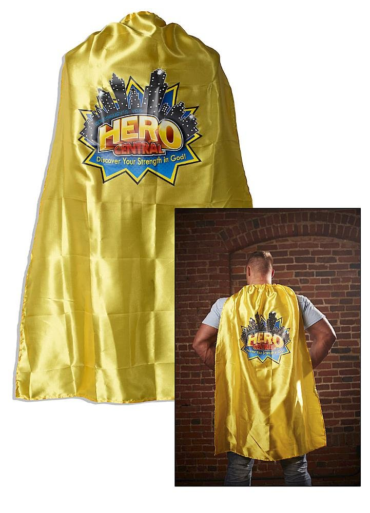 Vacation Bible School VBS Hero Central Adult Cape with Logo: Discover Your Strength in God! pdf epub