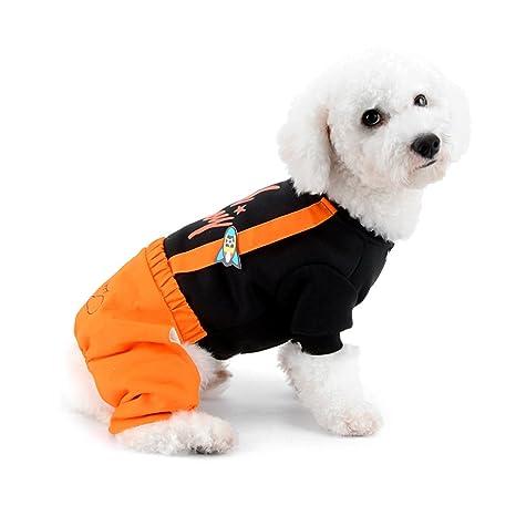 Ranphy - Sudadera para perro, gato, cachorro, pijama para perros, niñas,