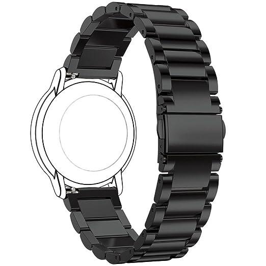 Para LG G Reloj/LG G Watch Urbane Metal bandas, ruentech repuesto choices-of-color & ancho (22 mm) -3beads Metal correas para LG G Reloj R W300/LG G Reloj R ...