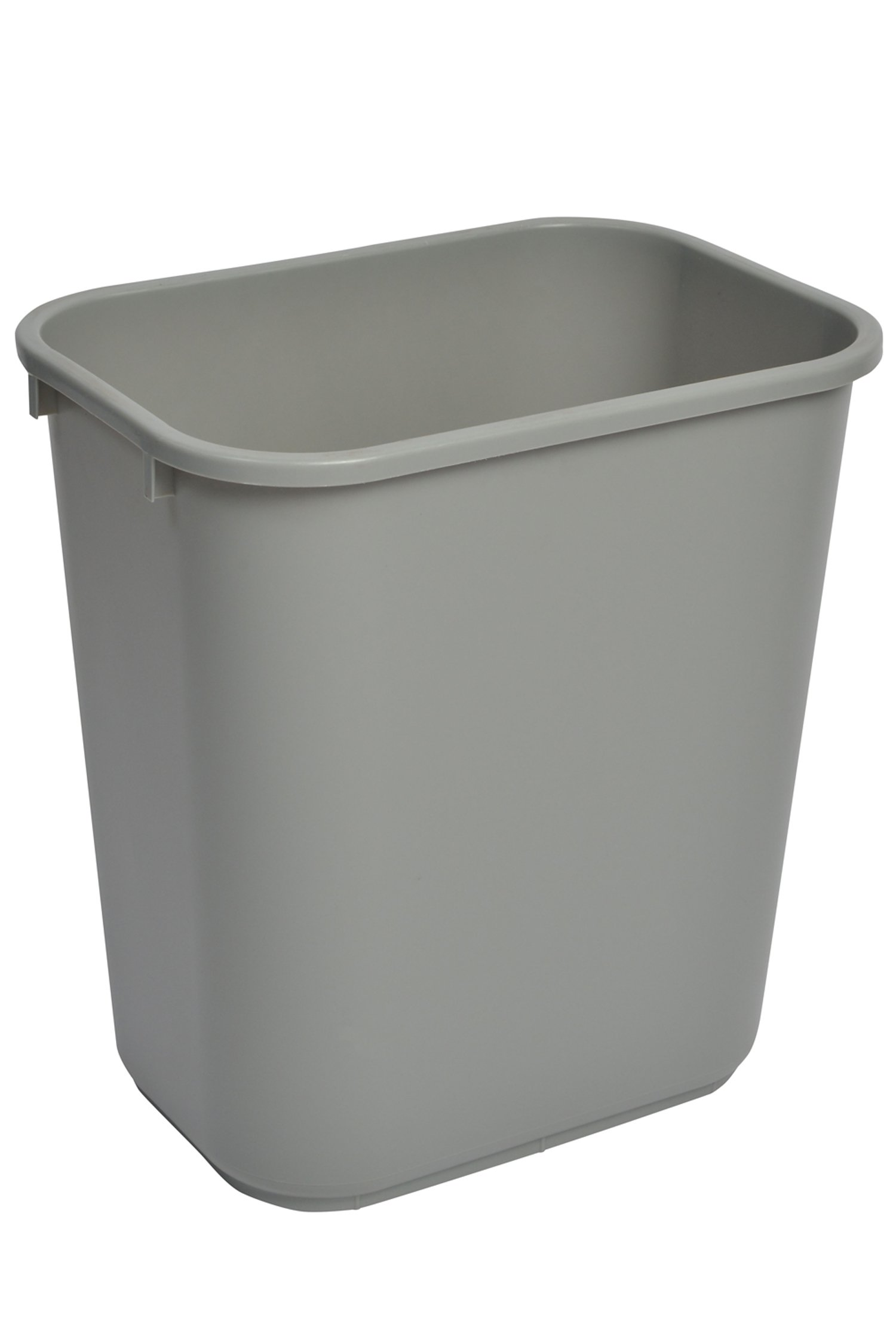 Janico 1037GY 10 Gallon Waste Basket
