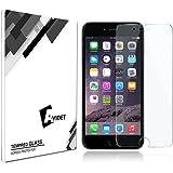 iPhone 7 Plus 専用強化ガラスフィルム AVIDET 9H硬度の液晶保護 0.3mm超薄型【国産ガラス素材】耐指紋 撥油性 高透過率 ラウンドエッジ加工