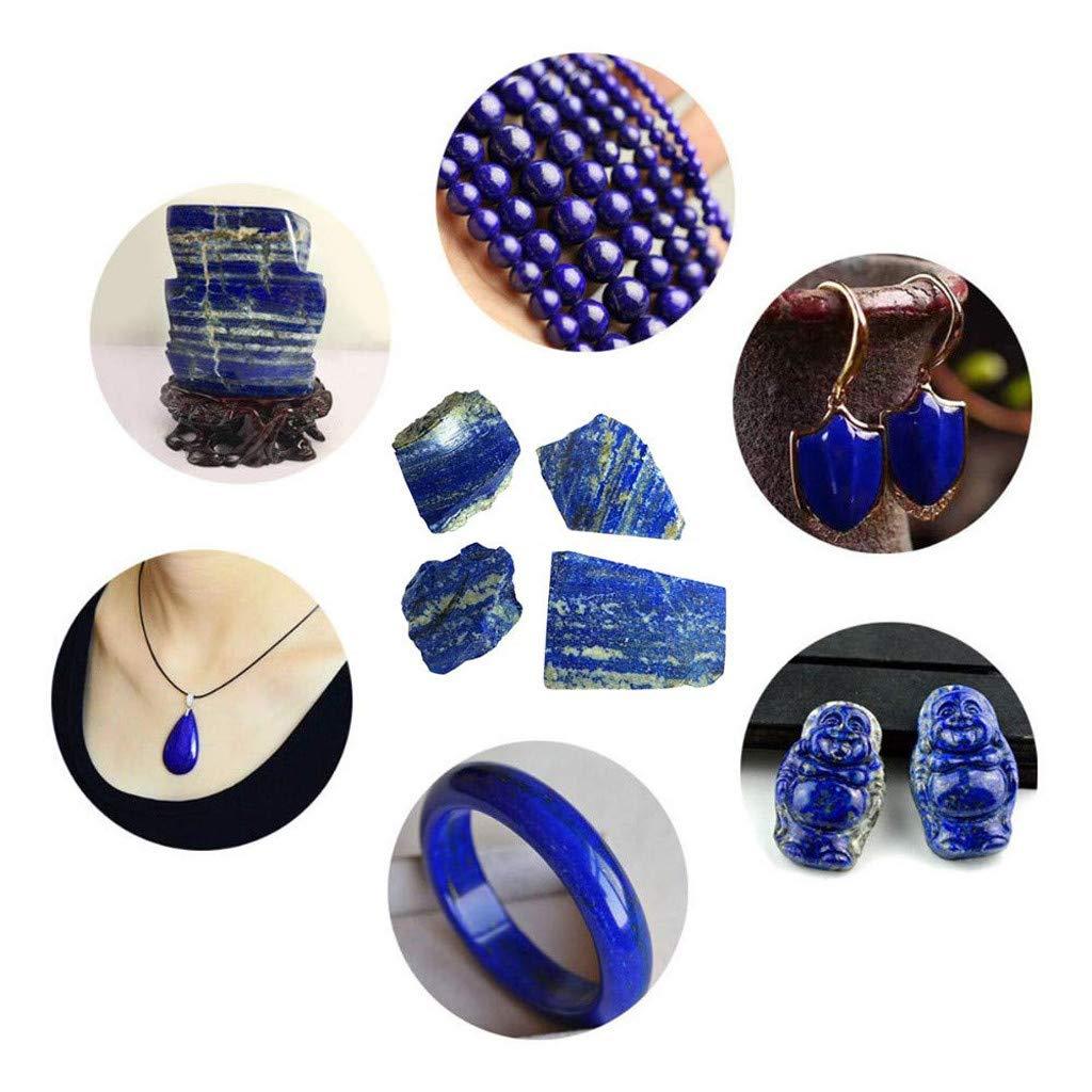 De Lapis Naturel Rugueux Lapis Lazuli Cristal Brut Pierre Pr/éCieuse Min/éRale Fish Tank Bijoux DIY en Naturelle Pwtchenty- Pierres Naturelles Certifi/éEs