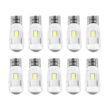 VGEBY 10 X T10 501 194 W5W 5630 LED 6SMD LED Bombillas ...