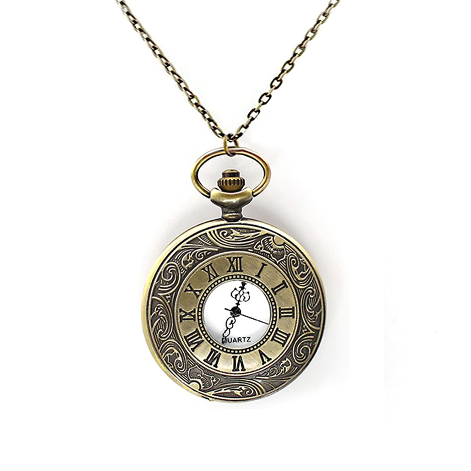 largeimages zoom res loading hero hi topic pendant product pdp pocket watch necklace celestial blackheart hot