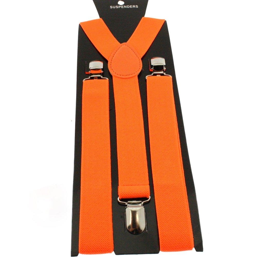 OUTLETISSIMO - Bretelles - Garçon Orange Arancione Taille Unique