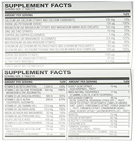 Amazon.com : USANA triple action cellular nutrition system: Core Minerals and Vita Antioxidant : Everything Else