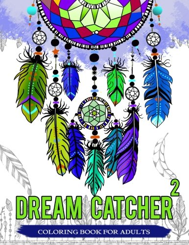 Dream Catcher Coloring Book Adults product image