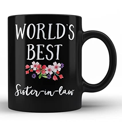 Amazon Worlds Best Sister In Law Mug