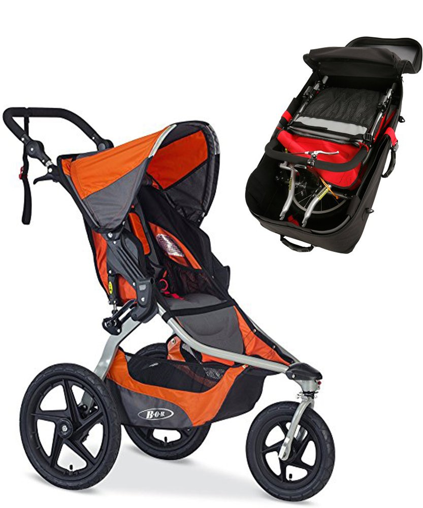 BOB Revolution FLEX Stroller & Travel Bag Bundle (Canyon)