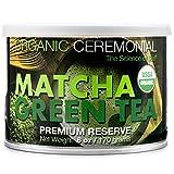Matcha DNA Certified Organic Ceremonial Grade Matcha Green Tea, TIN CAN (6 Ounce)