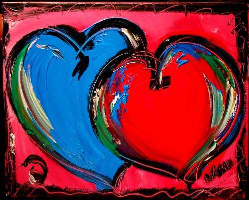 Valenite Hearts - Original Paintings Artwork New York for sale  Delivered anywhere in USA