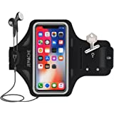 JEMACHE Premium Galaxy S9/S9+/S8/S8+ Armband, Ultra Thin Water Resistant Gym Run/Workout Arm Band Case for Samsung Galaxy S8/S8 Plus/S9/S9 Plus with Key/Card Holder