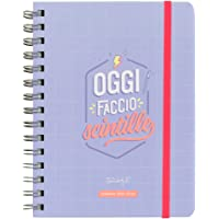 Mr. Wonderful Agenda Sketch settimanale 2019-2020, Multicolore, Dimensioni: 15 x 19,5 x 2,5 cm
