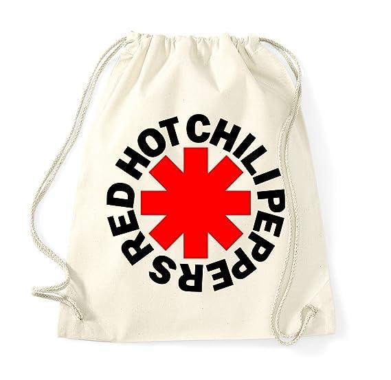 TRVPPY Turnbeutel Modell Red Hot Chilli Peppers RHCP//Beutel Rucksack Jutebeutel Sportbeutel Fashion Hipster