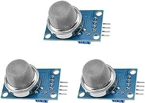 Ximimark 3Pcs MQ135 MQ-135 Air Quality Sensor Hazardous Gas Detection Module for Arduino