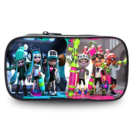 Amazon.com: Estuches de lápices Splatoon de gran capacidad a ...