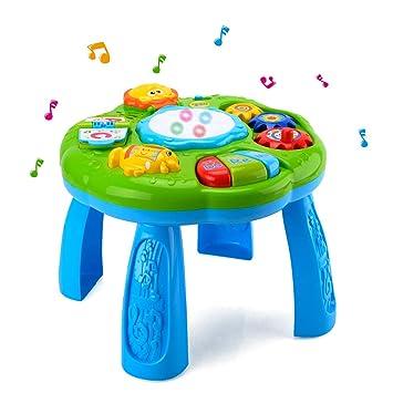 Amazon.com: HANMUN Juguete de mesa de aprendizaje musical ...