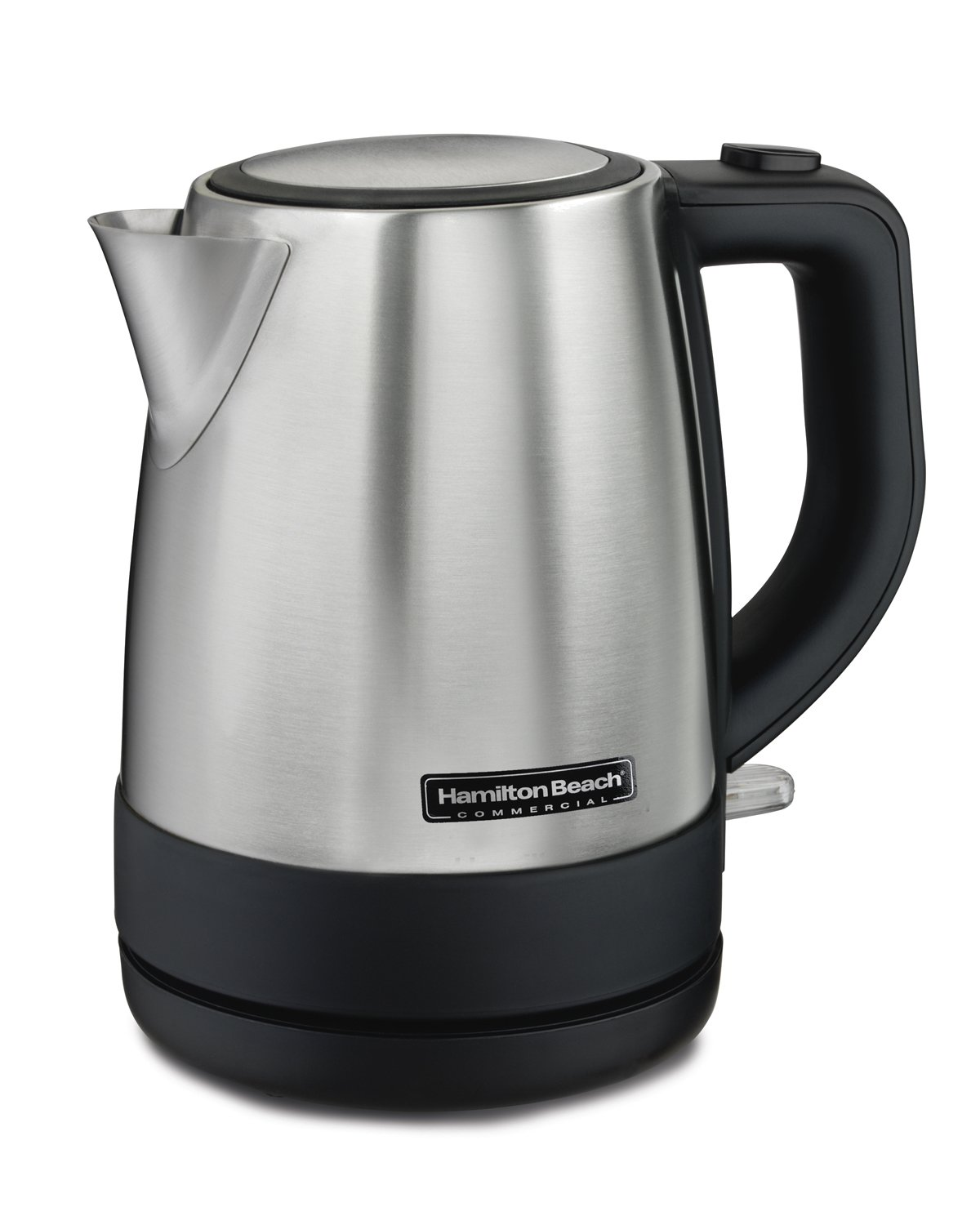 Hamilton Beach Commercial HKE110 1 Liter Hot Water Tea Kettle, Hospitality Rated, Stainless Steel