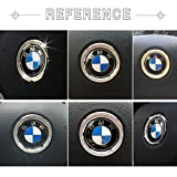 1797 Compatible Steering Wheel Logo Caps for BMW