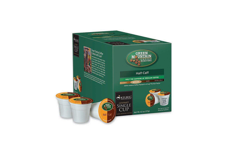 Keurig K Cups, 108-Count Half Caffeine Coffee Pods