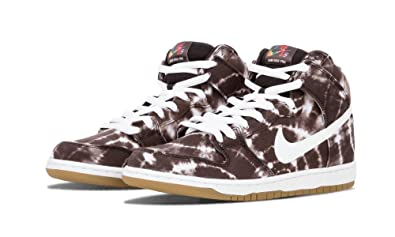 new concept 7cbb6 22425 NIKE Men s Dunk High Premium SB, BLACK WHITE-WHITE, ...