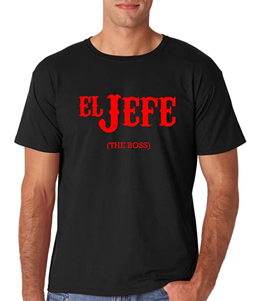 AW Fashions El Jefe (The Boss) - Cinco De Mayo Tee - Funny Mexican