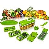 Nicer Dicer Plus Cortador Fatiador Legumes Verduras Frutas 228 - Lorben