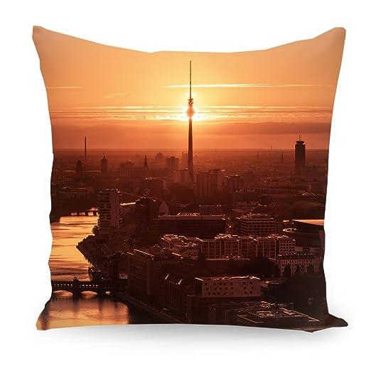 artboxone Cojín ciudades ciudades/Berlin Viaje Arquitectura ...