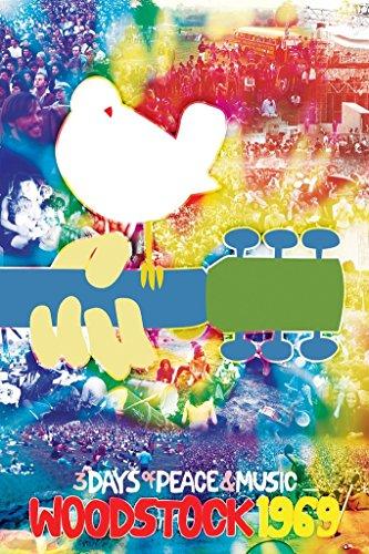 Woodstock Tye Dye Poster 24 x -
