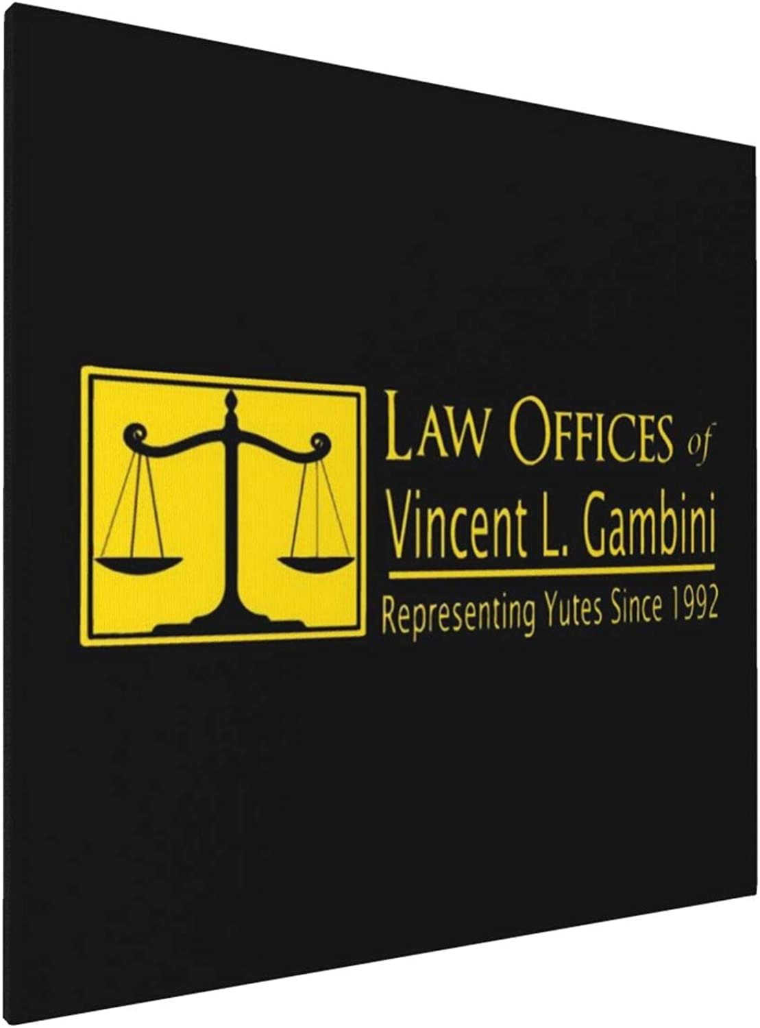 1007 Canvas Prints Wall Art Paintings(20x20in) My Cousin Vinny Law Offices Pictures Home Office Decor Framed Posters & Prints
