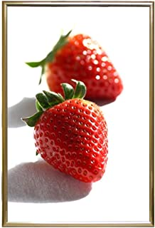 product image for Frame USA 24x36 Deluxe Polystyrene Plastic Poster Frames (Gold)   Multiple Colors Available