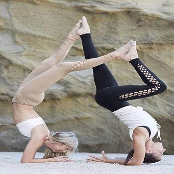 WYLYJTZ Pantalones De Yoga Mujeres Yoga Traje de Gimnasia ...