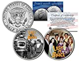 LOST IN SPACE * TV SHOW * Colorized JFK Half Dollar 2-Coin Set Robinson Robot