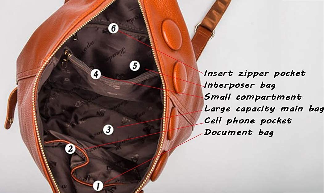 RYRYBH Womens Fashion Backpack Adjustable Strap Casual Backpack Lightweight Shoulder Bag Solid Color Backpack