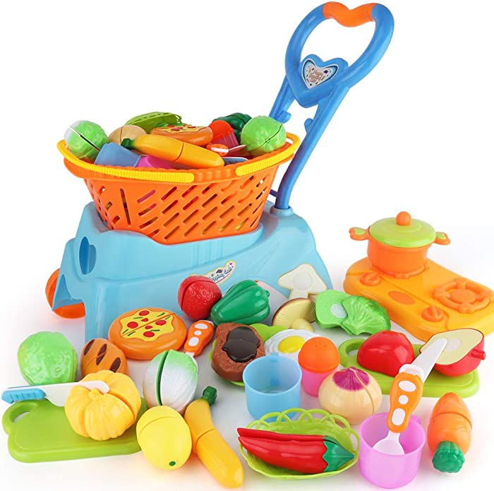 Top 10 Shopping Cart For Girls With Food