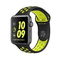 Apple Watch Series 2 Nike+ 42mm, Banda Deportiva, Color Negro/Verde