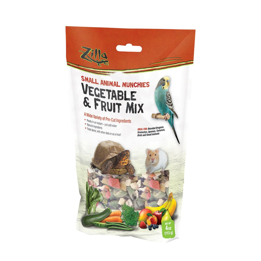 Zilla Reptile Munchies Fruit and Veggies Mix Treat, 0.11kg Lambert Vet Supply 100109686
