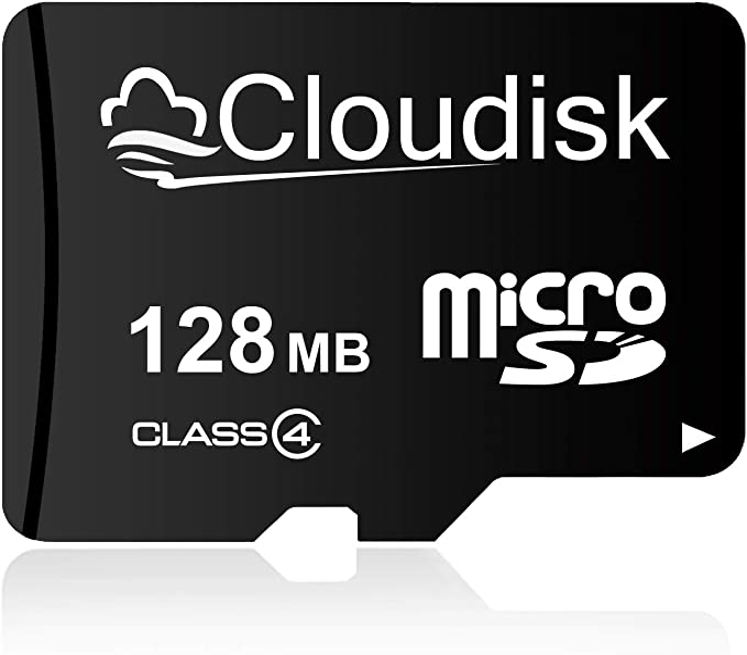 Cloudisk 10 Pack Micro Sd Karte 128 Mb Bulk Pack Mit Kamera