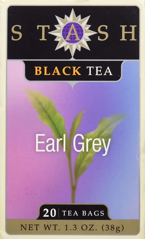 Stash Tea Earl Grey Tea - 20 ct