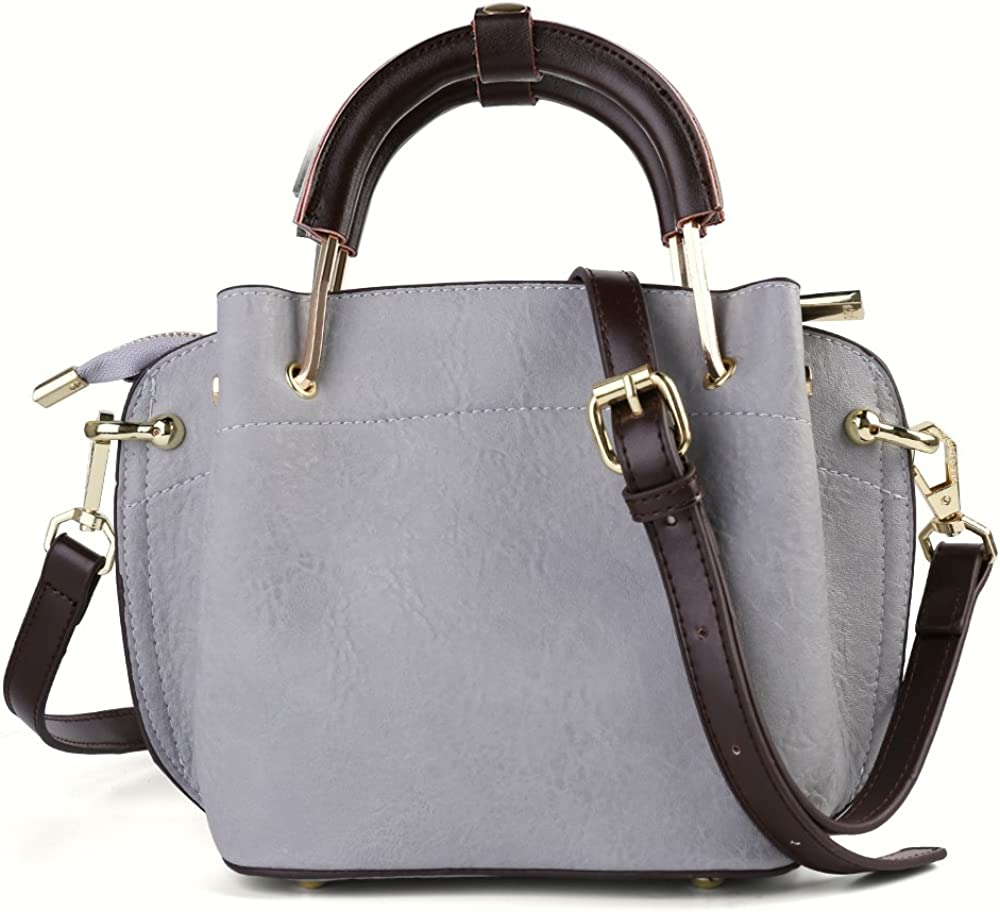 Fashion Real Leather Carrying top-Handle Bag Crossbody Bag Shoulder Bag Top Handle Satchel Purse