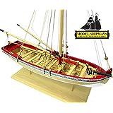 """Model Shipways 18th Century Longboat 1/4"""" Scale Wood Model Kit - Intro to Shipmodeling - Model Expo"""