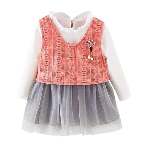 Patifia - Vestido de tul para bebé y niña, 2 unidades, vestido de ...