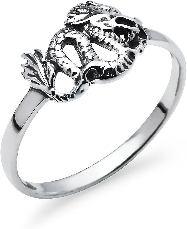 Vintage Sterling Silver Black Diamond Unisex Band Ring Size 10