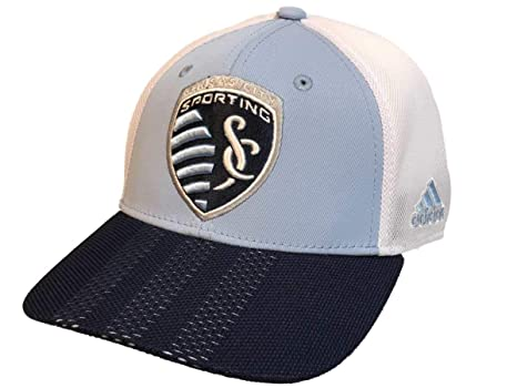 f95195cd Amazon.com : adidas Sporting Kansas City Hat Authentic Structured ...