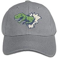 JIESENGTOO Sincerity-First - Gorra de béisbol para Deportes al Aire última intervensión, diseño de Huellas de Dinosaurio