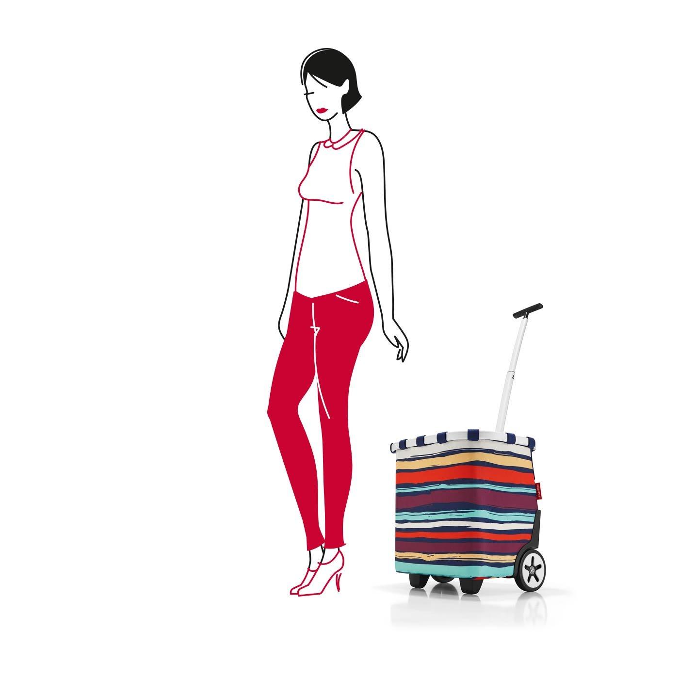 reisenthel Carrycruiser Shopping Trolley, Artist Stripes by reisenthel (Image #8)